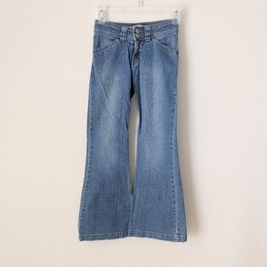 GAP Long and Lean Stretch Jeans Girls 8
